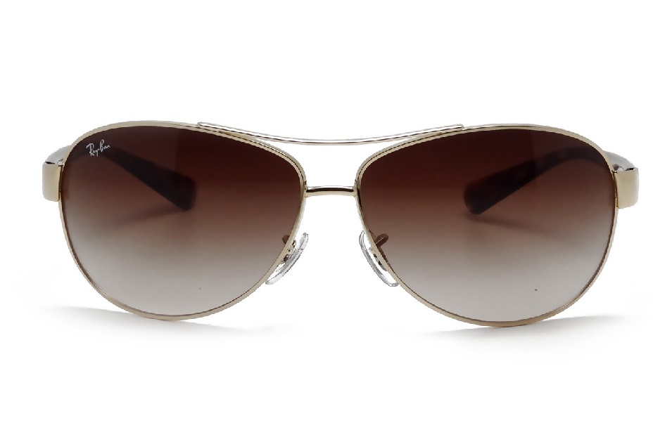 Aviator RB3386 Brown (Gold Frame)